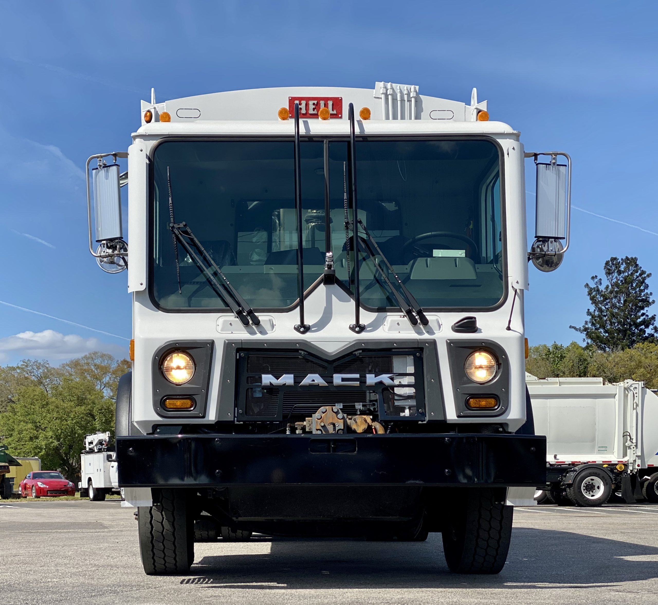 Mack garbage truck for sale