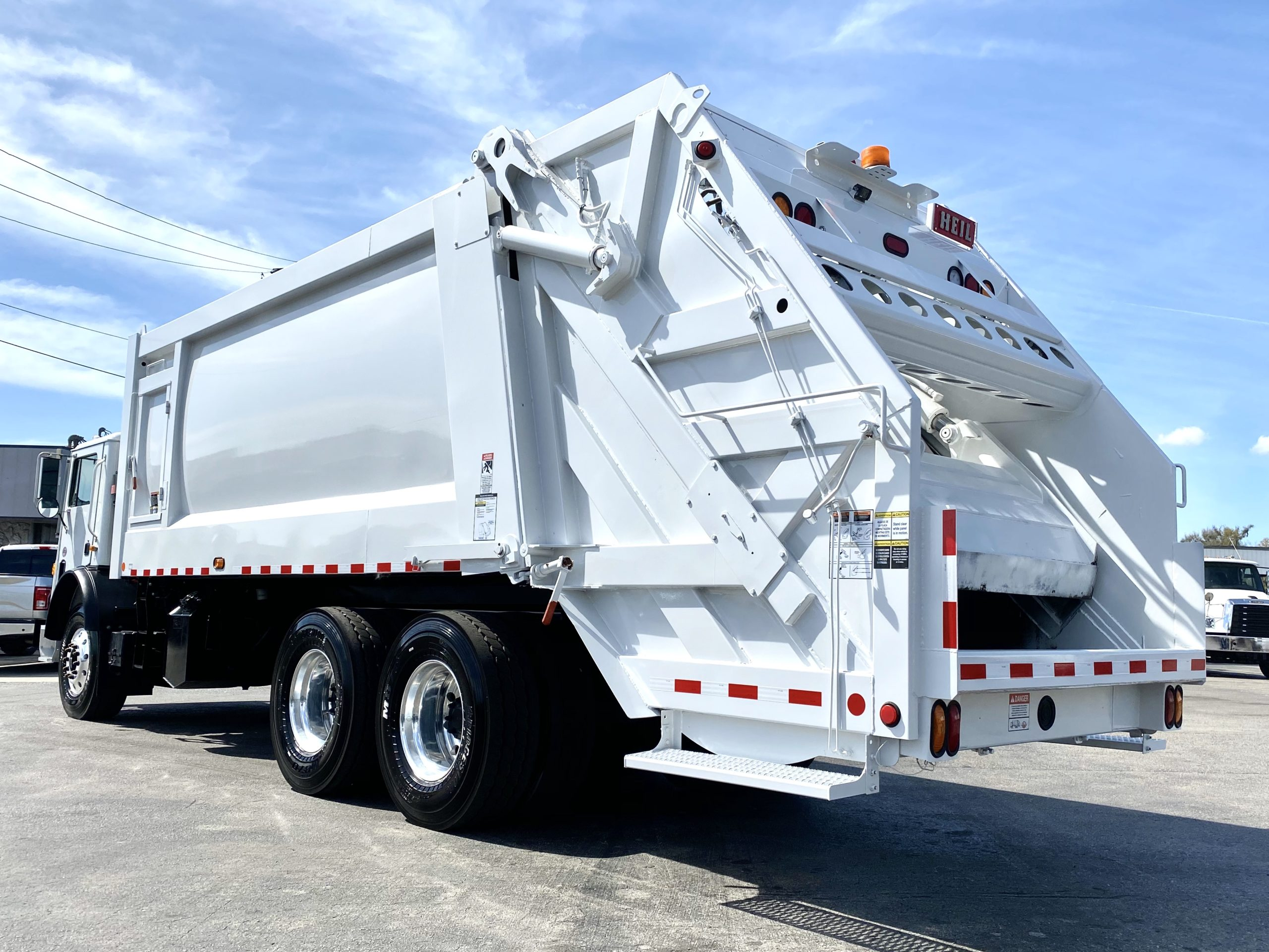 new garbage truck for sale